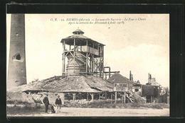 CPA Fismes, La Nouvelle Sucrerie, Le Four A Chaux, Apres La Retraite Des Allemands 1918 - Fismes