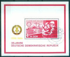 DDR 1984 / MiNr.   Block 78    O / Used   (s363) - DDR