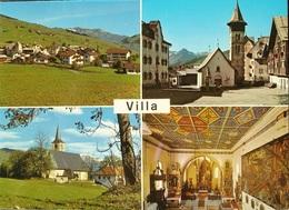 VILLA GR Val Lumnezia Gegen Morissen Dorfplatz Talkirche Pleif - GR Grisons