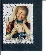 2-emilie Du Chatelet Cachet Rond - France