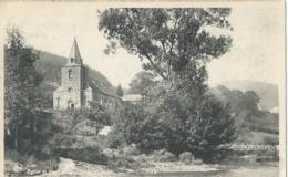 Coo - Eglise Et Pont Au Pied De La Cascade - Edition G. Monseur - Restaurant Du Vieux Moulin à Coo - Stavelot