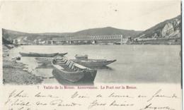 Anseremme - 7 - Vallée De La Meuse - Anseremme - Le Pont Sur La Meuse - 1902 - Dinant