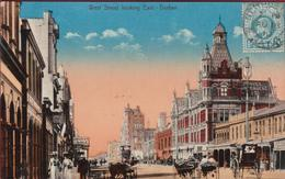 West Street Looking East Durban Natal Zuid Afrika South Africa 1910 - Afrique Du Sud