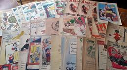 GROS LOT DE 85 ANCIENS PROTEGE-CAHIERS Publicitaires,illus- Toutes Marques - Idéal Pour Début De Collection Ou échanges. - Protège-cahiers