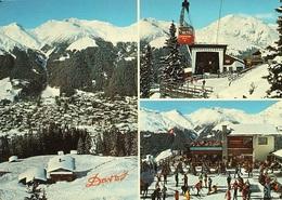 DAVOS Bergrestaurant Ischalp Luftseilbahn Jakobshorn Ski Stempel Restaurant - GR Grisons