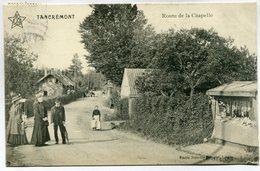 CPA - Carte Postale - Belgique - Tancrémont - Route De La Chapelle - 1913  (M7381) - Theux