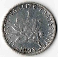 1F 1903 - H. 1 Franc