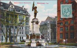 Canada Montreal Quebec Maisonneuve Monument 1909 - Montreal