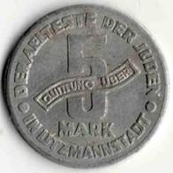 5 Mark Getjho Juif De LODZ 1943 - Originale - Pologne