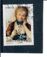 3 - Emilie Du Chatelet Cachet Rond - France