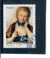 4-emilie Du Chatelet Cachet Rond - France