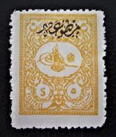 TIMBRE POUR JOURNAUX - SURCHARGE NOIRE 1901 - NEUF * - YT 22 - MI 113A - 1858-1921 Ottoman Empire