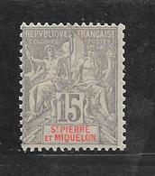 SAINTE PIERRE ET MIQUELON - N° 74 NEUF * - COTE = 125.00 € - St.Pierre Et Miquelon
