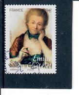 5-emilie Du Chatelet Cachet Rond - France
