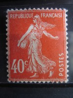 FRANCE   N° 194 NEUF AVEC TRACE DE CHARNIERE - France