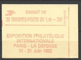 CARNET SABINE N° 2154-C1a / Gom Mat  NEUF** LUXE SANS CHARNIERE / MNH - Carnets