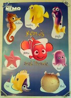 BELLE ET GRAND AFFICHE DESSIN ANIME NEMO - CINEMA WALT DISNEY 2003 - Affiches