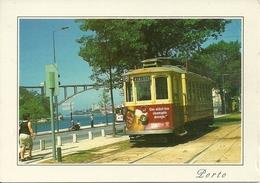 Porto (Oporto, Portogallo) Carro Electrico Tipico, Tramway, Tram-car, Tranvia - Porto