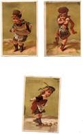 CHROMO Liebig Testu & Massin S55 Enfant Costume Ecossais Ecosse S 55 La Série De 6 Chromos - Liebig