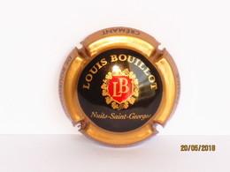 Capsules Ou Plaques De Muselet Mousseux Crémant De Bourgogne Louis Bouillot - Mousseux