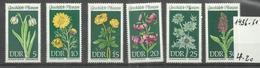 """DDR 1456-61 """"Geschützte Heimische Pflanzen,  Satz Kpl. 1968"""" Postfrisch Mi.-Preis 4,20 - Nuovi"""