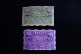 GUYANE N°95/96* MH  Y/T C.50e - Neufs