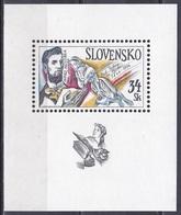 Slowakei Slovakia 1994 Persönlichkeiten Musik Music Nationalhymne National Anthem Janko Matuska Komponisten, Bl. 2 ** - Slowakische Republik