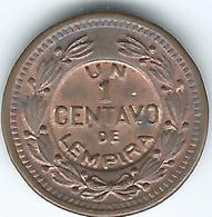 Honduras - 1 Centavo - 1939 (KM77.1) & 1957 (KM77.2) - Honduras