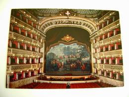 TEATRO S. CARLO  NAPOLI     THEATRE   Théâtre     POSTCARD UNUSED - Teatro