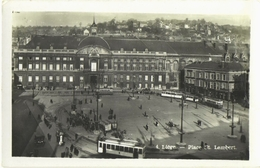 CPSM DE LIEGE  (BELGIQUE)  PLACE SAINT-LAMBERT - Lüttich