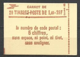 CARNET SABINE N° 2102-C7 NEUF** LUXE SANS CHARNIERE / MNH - Carnets