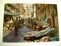 NAPOLI  MERCATO    Marche Market   NON  VIAGGIATA COME DA FOTO - Mercati