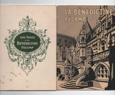 - Visite à La Bénédictine De FECAMP  NORMANDIE Livret Complet Rare  20pp Illustré état Impeccable - Normandie