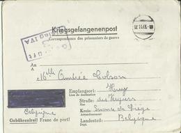 Correspondance Des Prisonniers De Guerre STALAG IV A    1943    (2 Scans) - Marcophilie