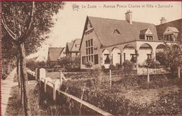 Knokke Knocke Sur Mer Le Zoute Avenue Prince Charles Et Villa Surcouf (zeer Lichte Kreuk) - Knokke
