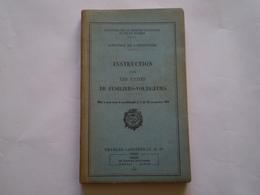 Militaria Infanterie: Instruction Pour Les Unités De Fusiliers Voltigeurs. 1945.  Illustrations En N&b. - Francese