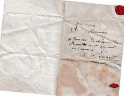 Lettre Rare Manuscrite Cachet De Cire D'Arpajon à Chanoine De Bruxelles St Léonard Limousin Degly 1784 à Saisir - Manuscrits