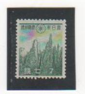 JAPON 1937-40 N° 267 NEUF* Trace De Charnière - Unused Stamps