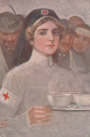 "VECCHI-Illustr.""CROCE ROSSA ITALIANA""-POSTA MILITARE-162° Regg.M.M 1° Batt.Serv. Sanitario Vg Il 1915-Originale100%an2 - Illustratori & Fotografie"