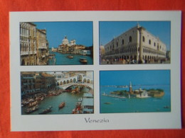 ITALIE - VENISE - ITALIA - VENEZIA, Scorcio Sul Canal Grande, Palazzo Ducale, Ponte Di Rialto, Isola Di San Giorgio - Venezia (Venice)