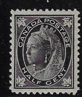 Canada 1897 SCOTT 66* CAT VALUE US $15. - Neufs