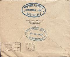 Uruguay THE URUGUAY TRADING Co., MONTEVIDEO 1925 Cover Letra HAMBURG Germany Bird Vogel Oiseau (2 Scans) - Uruguay
