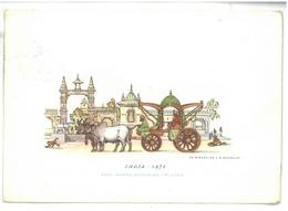 Tematica Carrozze Di Tutto Il Mondo India 1875 Viaggiata 1955 Condizioni Come Da Scansione - Altri