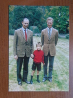 Grand Duc Jean, Grand Duc Héritier Henri Et Prince Guillaume De Luxembourg -> Ne Pas écrit - Famille Grand-Ducale