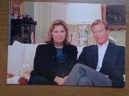 Grand Duc Henri Et Grande Duchesse Maria-Teresa De Luxembourg -> Ne Pas écrit - Famille Grand-Ducale