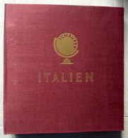 Italy/Italia Collection In Schaubek Album Mint Hinged/Ongebruikt/Neuf Avec Carniere/used/gebruikt/oblitere - Collections (en Albums)