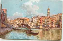 ITALIE VENISE BELLE ILLUSTRATION DU PONT RIALTO - Venezia (Venice)