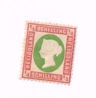 Reine Victoria MH,Neuf Charnière,Mit Falz. Yvert 5. - Heligoland (1867-1890)