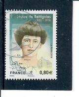 1-france 2018 Louise De Bettignies-cachet Rond - France
