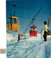 Photo (1960) : MERIBEL (Savoie), Le Télécabine De La Tougnète, Animée - Sin Clasificación